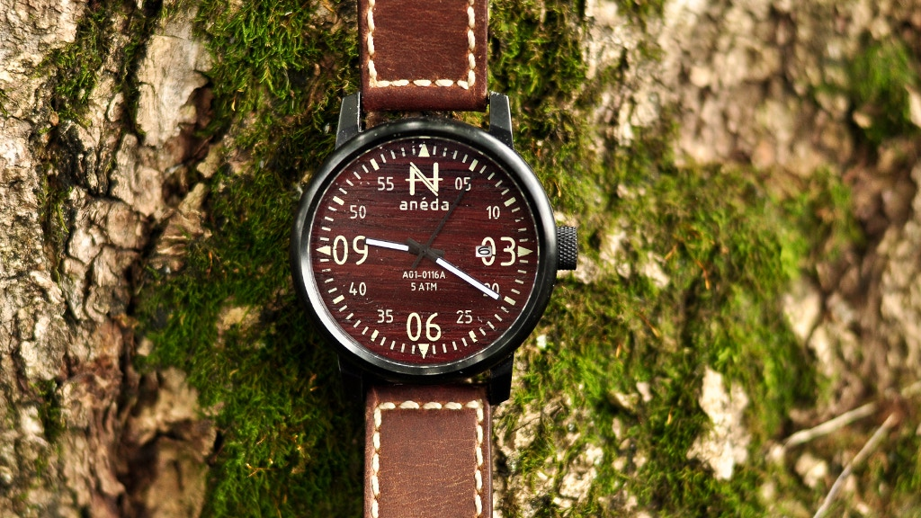 Anéda, The Wooden Dial Watch Designed in Québec project video thumbnail