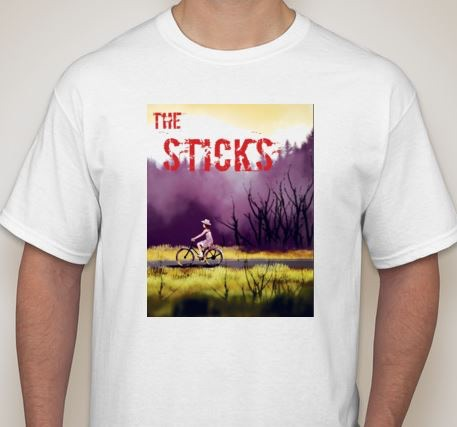 Backer rewards include t-shirts, books, and more!