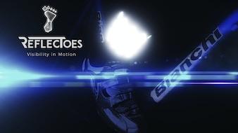 ReflecToes Socks - Reflective Visibility In Motion