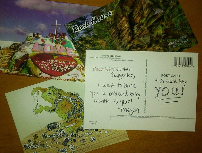 postcard club