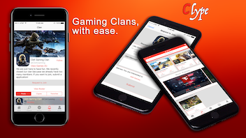 Clype: Creating and Joining Gaming Clans, with ease.
