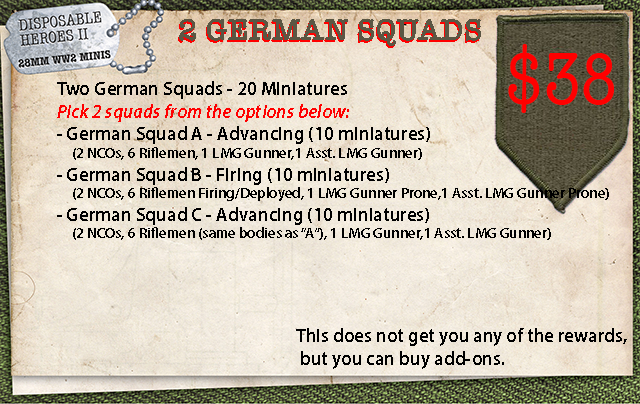 Two German Squads
