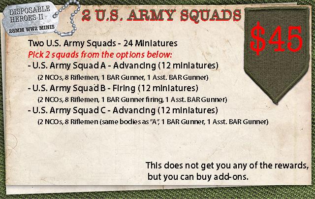 Two U.S. Army Squads