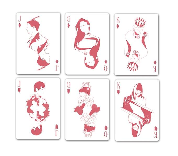 pink nebula playing cards - 680×596