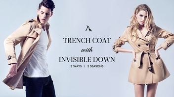 The best trench coat in the world