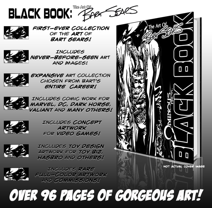 The Black Book: The Art of BART SEARS