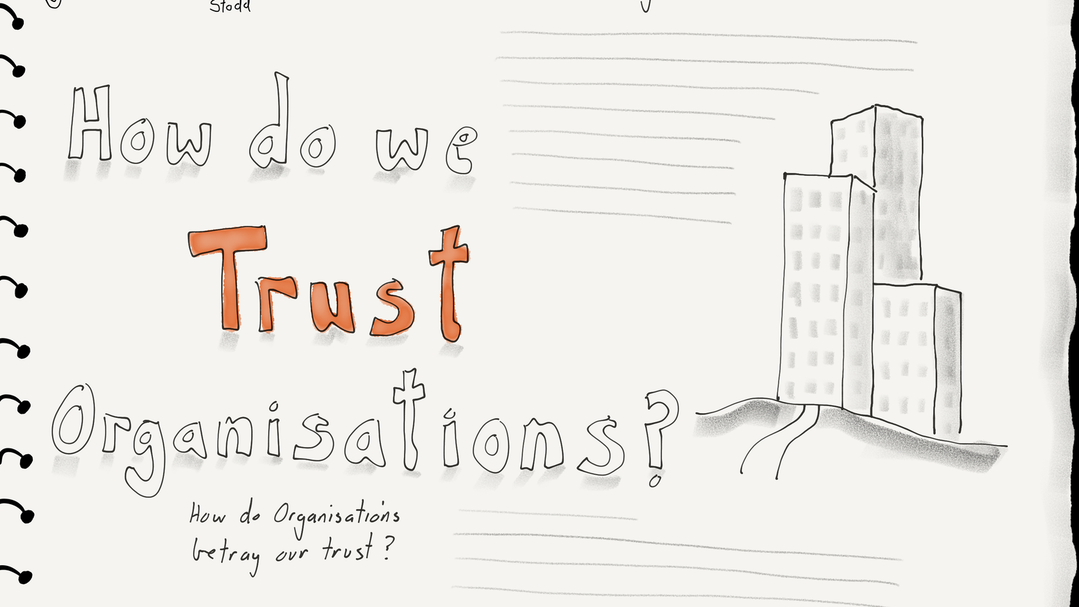 The Trust Sketchbook: a reflective space to explore by
