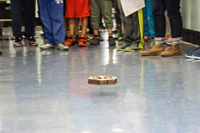 20 May 2016, Demo BeeBot at PS 144 Elementary School (Queens), NYC