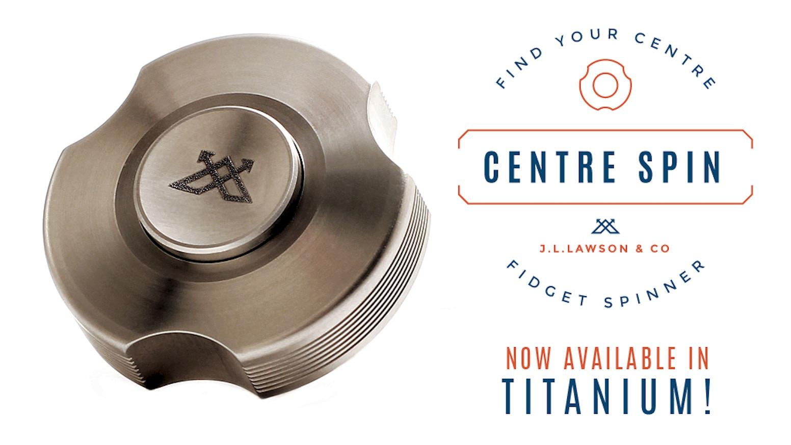 Centre Spin - Fidget Spinner by Anthony Lawson — Kickstarter