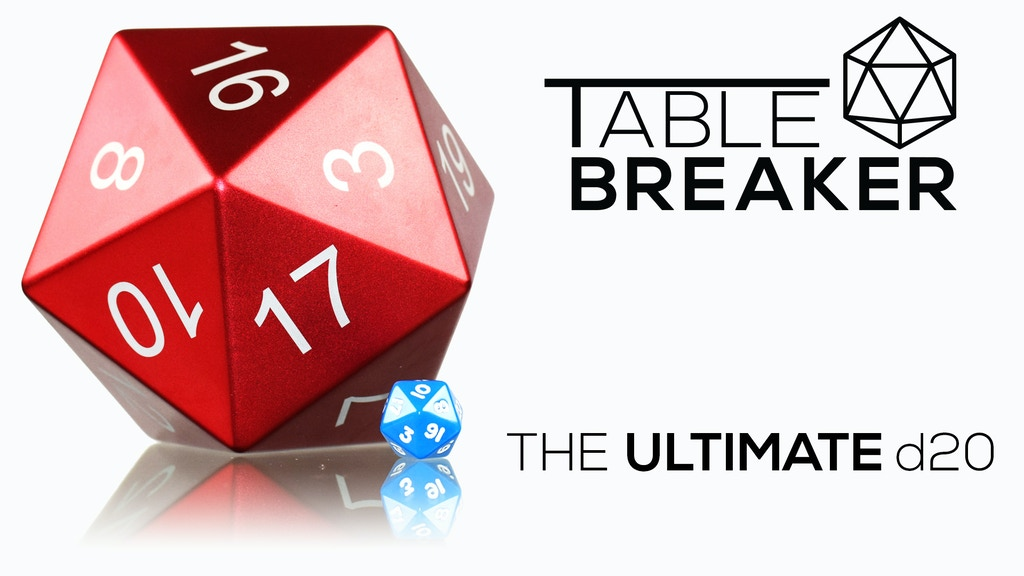 The Tablebreaker: The Ultimate d20 project video thumbnail