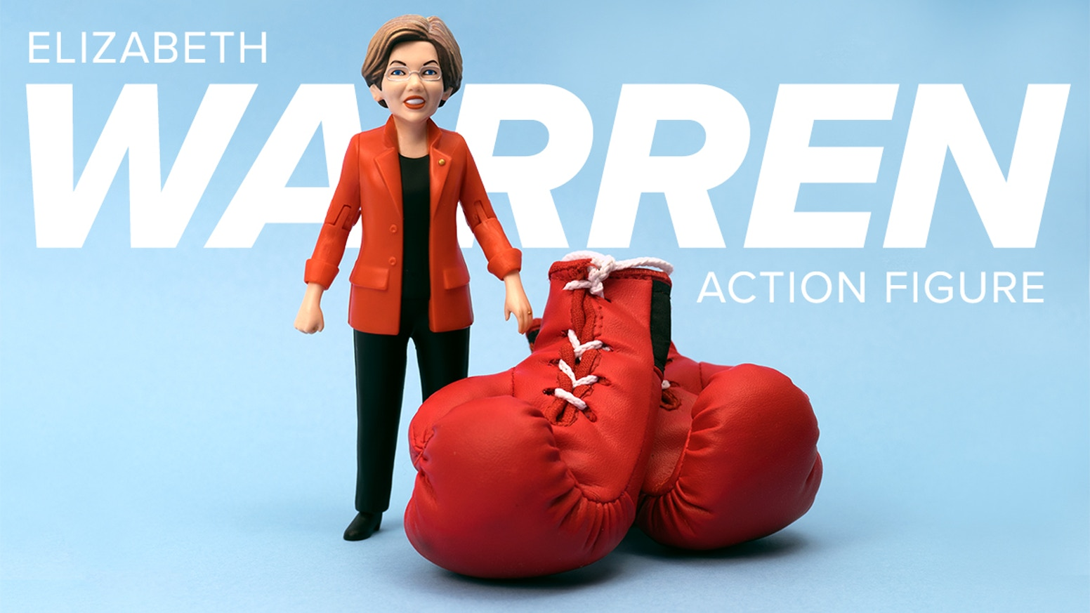 Let's turn Elizabeth Warren into an action figure that can bring the fight to the Right!