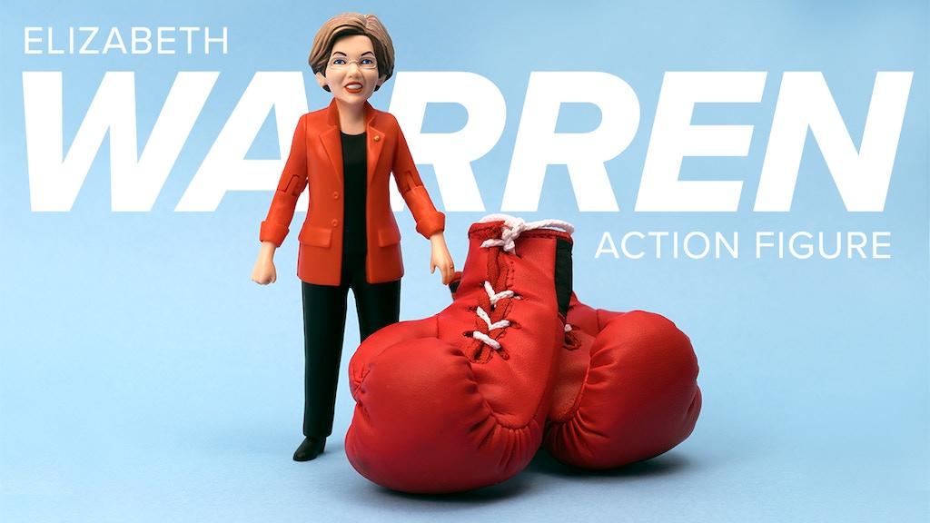 Elizabeth Warren Action Figure project video thumbnail