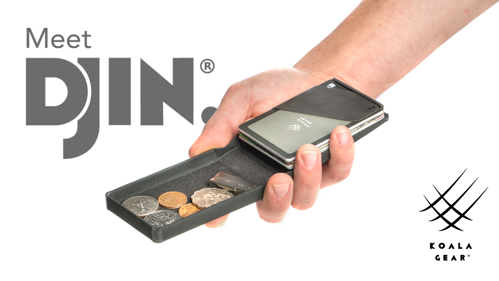 DJIN: The Wallet, perfected.
