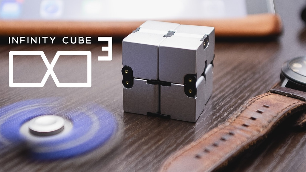 Fidget in Style with INFINITY CUBE - Luxury EDC Fidgeting project video thumbnail