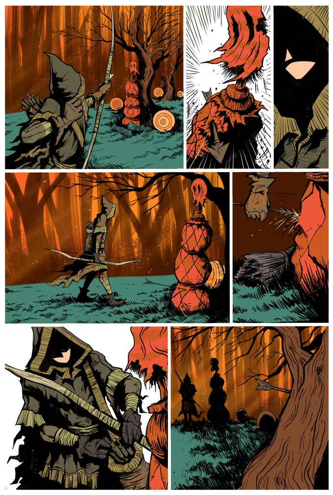 Robyn Page #4 - Art by Ege Avci