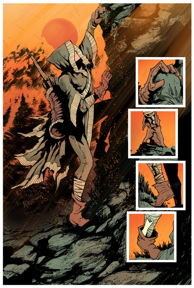 Robyn Page #5 - Art by Ege Avci