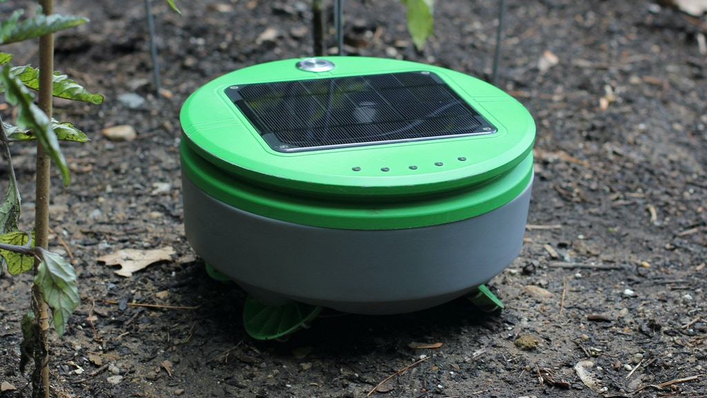 Tertill: The solar powered weeding robot for home gardens project video thumbnail