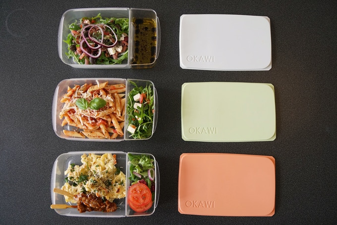 With the extra container, you can eat your meal the way it was supposed to be enjoyed.