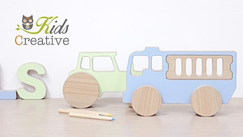 Kids Creative Playful Wooden Toys