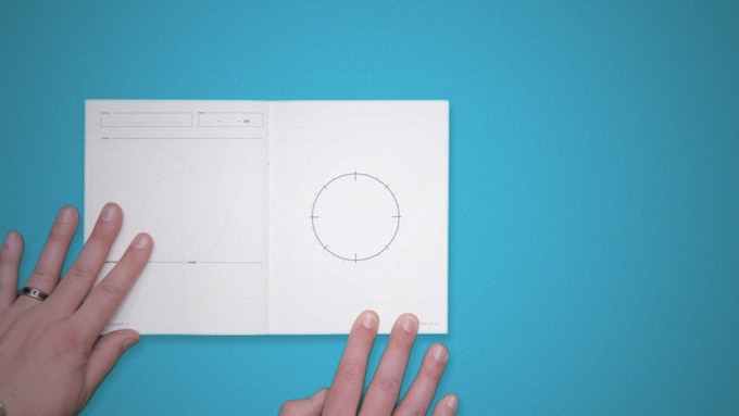 The Storyclock Notebook utilizes the simple method of visualizing your story like a clock.