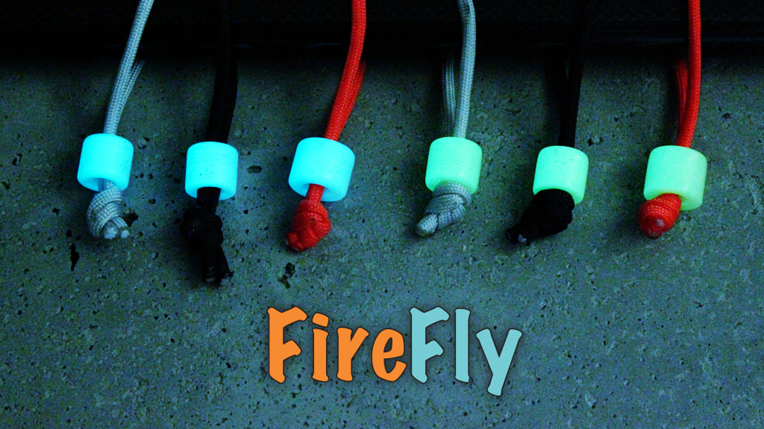 FIREFLY | Glowing zipper pull, key chain, and more... by RUNE ...