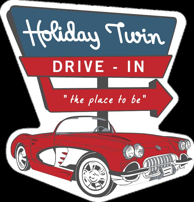 "3"" Drive-In Sticker"