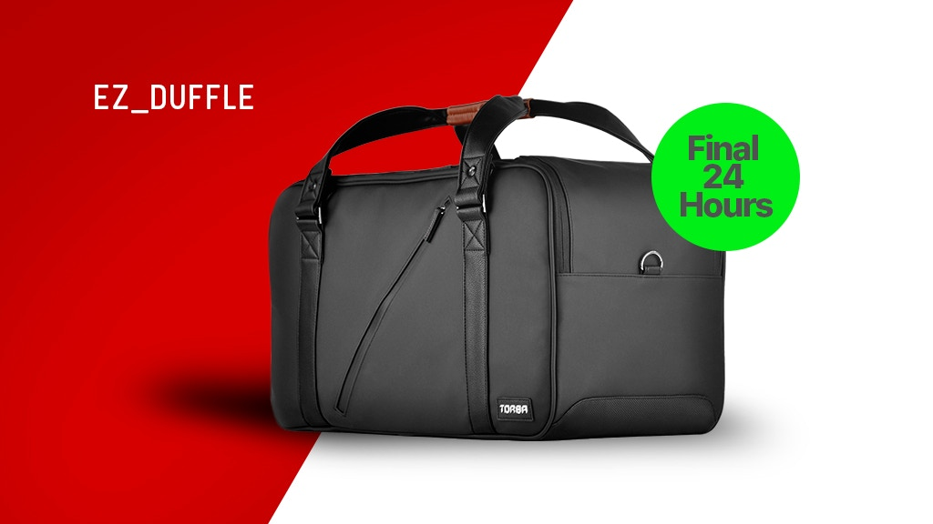 EZ_Duffle: easily ORGANIZE travel & daily carry with ONE BAG project video thumbnail