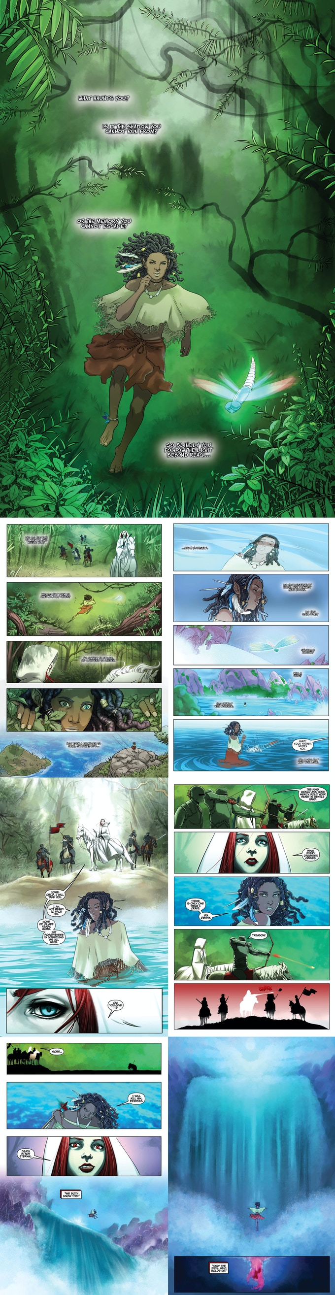 She is Life Preview Pages