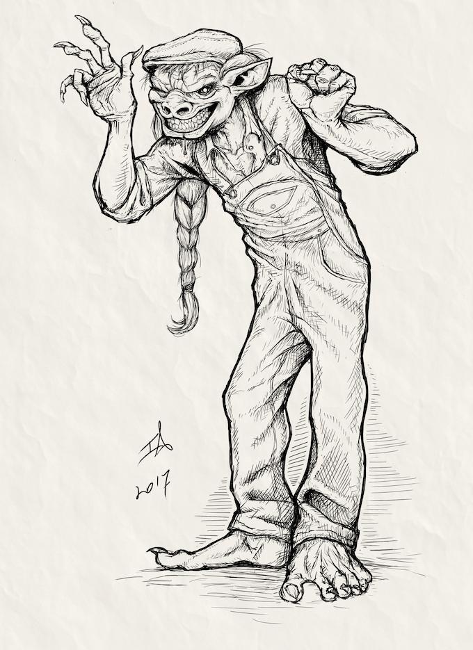 Darby - Friendly Troll