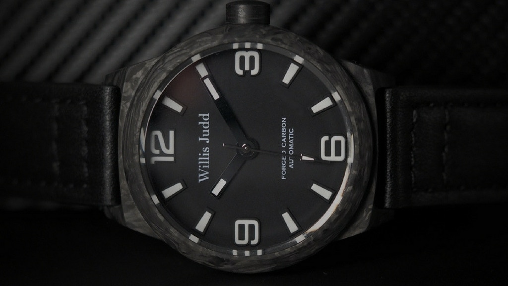 Willis Judd Forged Carbon Automatic Watches project video thumbnail