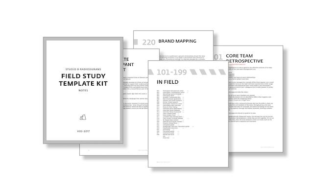 Over 50 digital templates