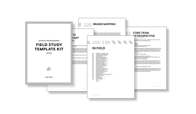 The Field Study Handbook by Jan Chipchase —Kickstarter