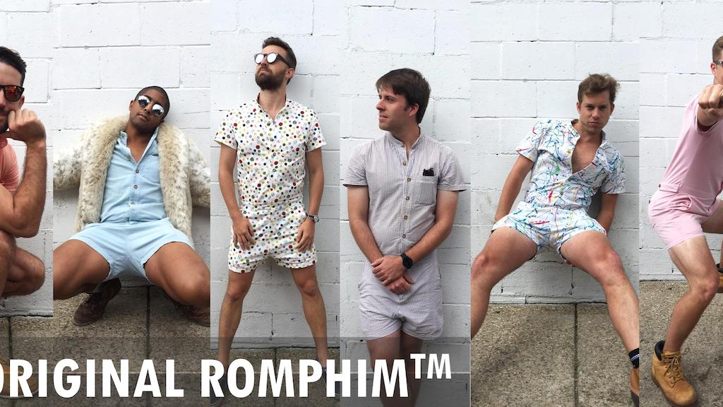 Miniature de la vidéo du projet The RompHim™: Your new favorite summer outfit