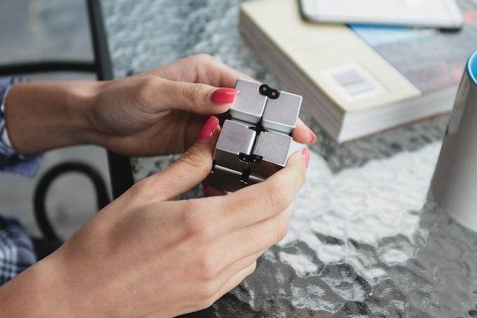Fidget in Style with INFINITY CUBE - Luxury EDC Fidgeting by