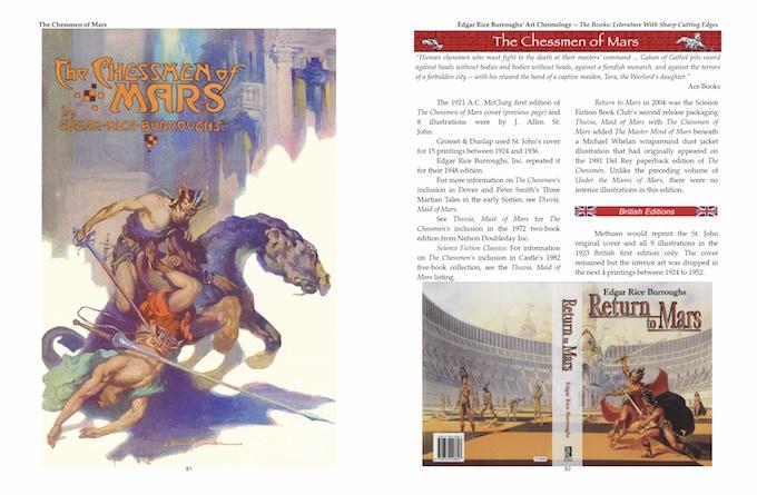 Edgar Rice Burroughs 100 Year Art Chronology By Chenault Gray