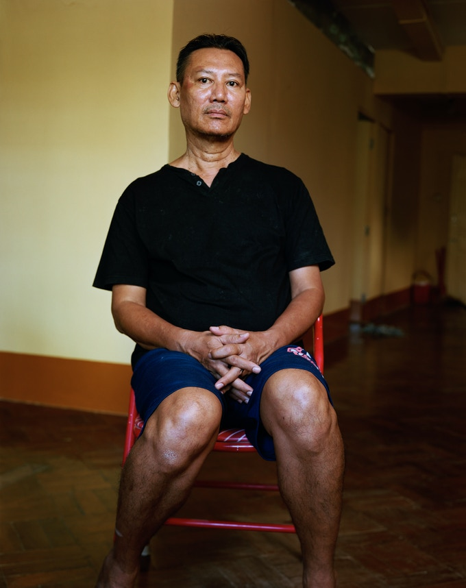 Photo by Dana Lixenberg, of poet Khin Aung Aye