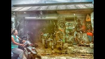 Artistic Twist To Bali.
