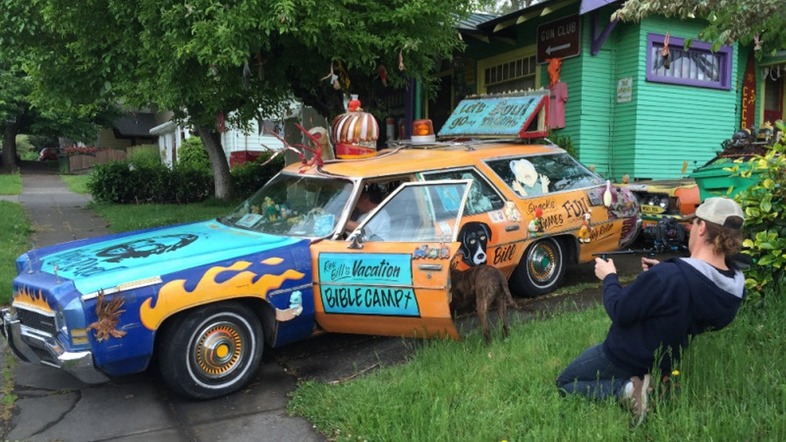 Documentary profile of art car creator and Portland Cacophony Society co-founder Rev. Chuck Linville.