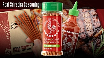 Sriracha Stix, Season From the Inside Out with Real Sriracha