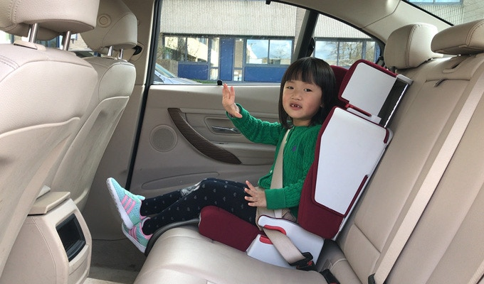 Child Car Seat - Approx 3-12 years old