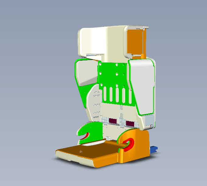 Child Car Seat -  3D Prototype