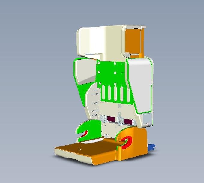 Child Car Seat -  3D Prototype