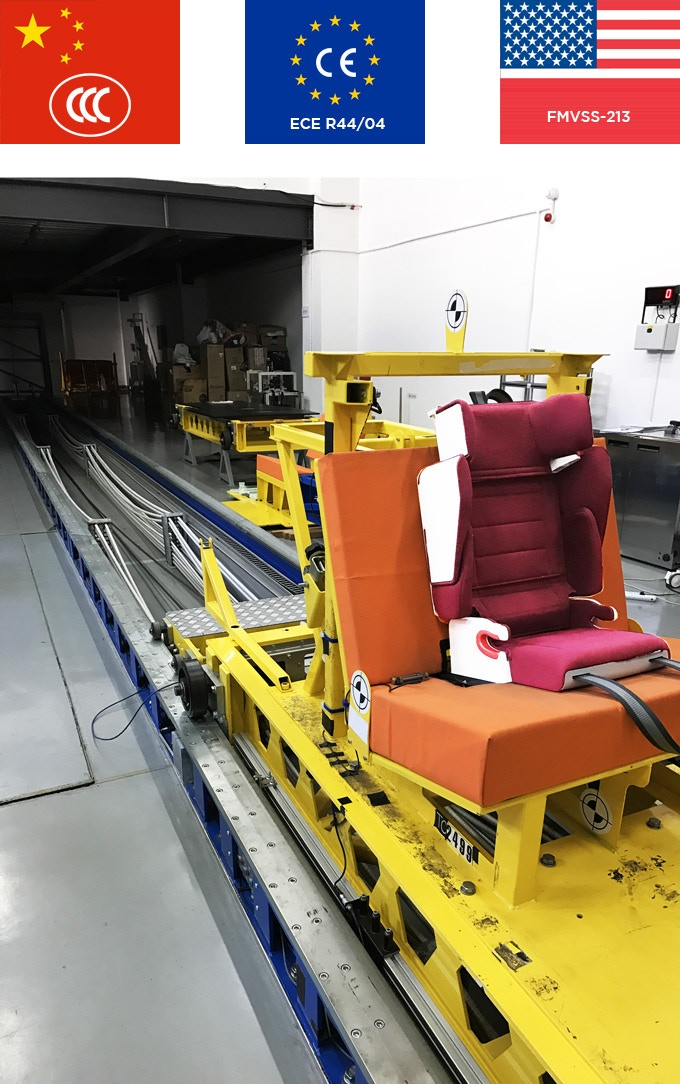 Purseat in the test center