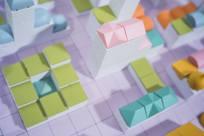 Colourful components from the Cityscape range