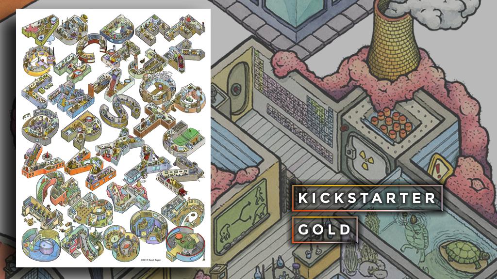Kickstarter Gold: Alphabet City, Literally project video thumbnail