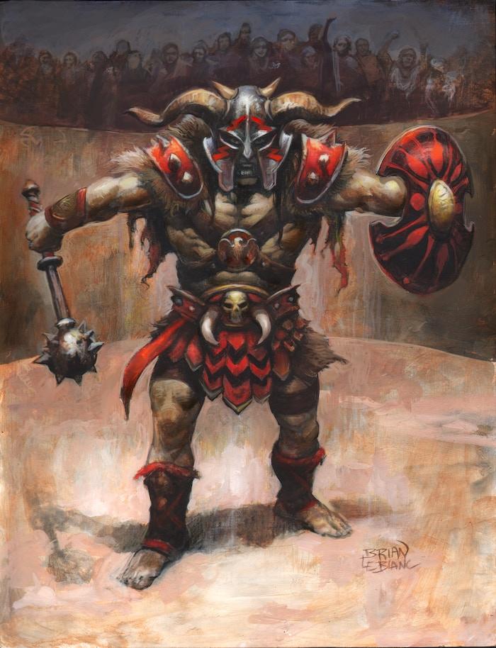 Ferro, the Widowmaker. The second Legendary Gladiator.