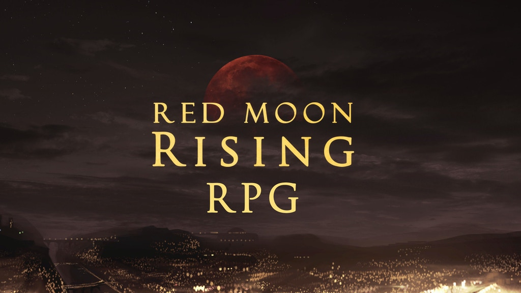 Red Moon Rising RPG project video thumbnail