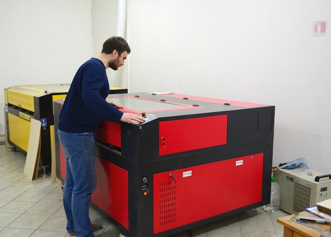 High-precision laser equipment