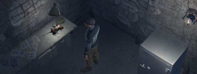 Grenade + duct tape + rat = interesting trap!