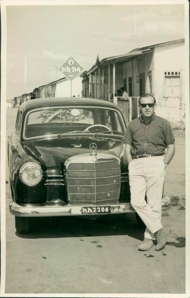Dad in Africa circa 1960